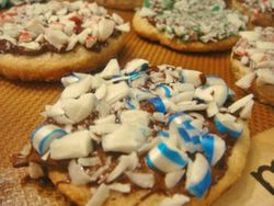 Peppermintbarkcookies