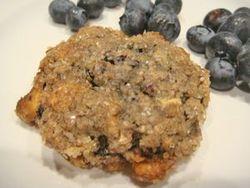 XXX Blueberry Cookies