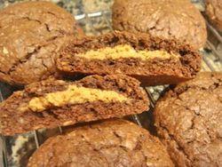 Peanut Butter-Stuffed Nutella Cookies