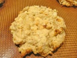 Lemon, Lime, Coconut, and Macadamia Nut Cookies