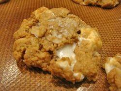 Salty Fluffernutter Cookies