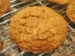 Orange-Cinnamon Graham Cookies